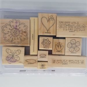 Stampin Up Time Well Spent Stamps